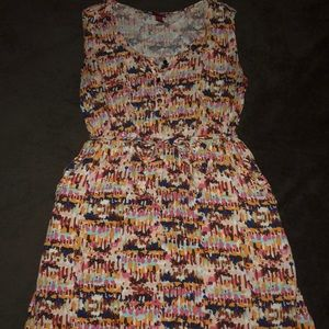 Dresses & Skirts - Women's Multi colored dress